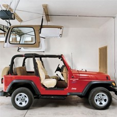 Harken Hoister Jeep Wrangler Top Lift System, 45-145 pounds, 16' Lift