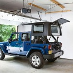 Harken Hoister Jeep Wrangler Unlimited Top Lift System, 75-200 pounds, 10' Lift